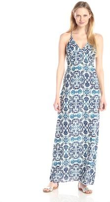Style Stalker StyleStalker Women's Ming Printed Maxi Dress Large