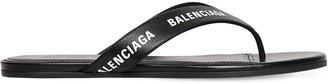 Balenciaga 10mm Leather Thong Sandals