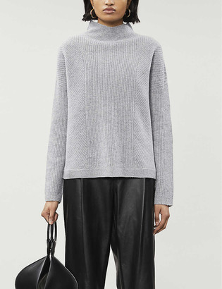 Whistles Eden turtleneck merino wool jumper