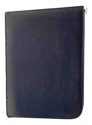 Louis Vuitton Pochette Jour GM Blue Leather Bags