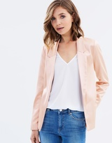 Miss Selfridge Satin Jacket