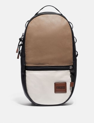 Coach Pacer Backpack In Colorblock With Patch