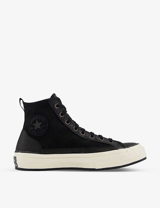 Converse x Haven All Star 70 suede and leather high-top trainers