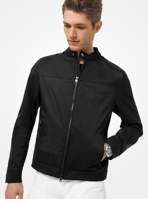 Michael Kors Tech Racing Jacket