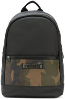 Hydrogen camouflage backpack - men - Cotton - One Size