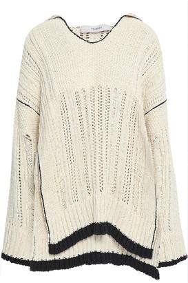 Pringle Open-knit Cotton Sweater