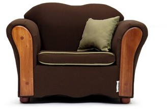 Harriet Bee Clarris Kids Cotton Chair Color: Sweet Brown