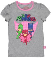 "PJ Masks Little Girls' Toddler ""Trio"" T-Shirt"
