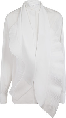 Givenchy Ruffled Classic Blouse