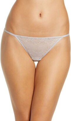 Madewell Lace String Bikini Panty