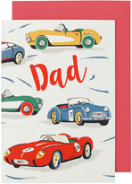 Cath Kidston Fast Cars Greetings Card