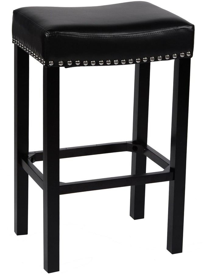 Prime Nailhead Stool Shopstyle Onthecornerstone Fun Painted Chair Ideas Images Onthecornerstoneorg