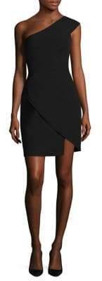 BCBGMAXAZRIA Women's One-Shoulder Cocktail Dress - Deep Royal - Size 2