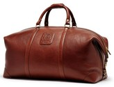 Ghurka Men's 'Cavalier Iii' Leather Duffel Bag - Brown