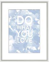 Pottery Barn Stephanie Sterjovski Framed Print: Do What You Love