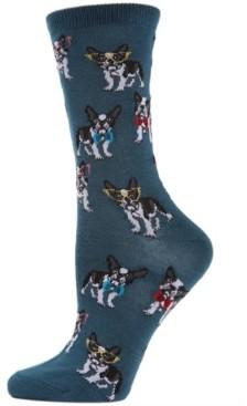 Me Moi MeMoi Studious Dogs Women's Novelty Socks