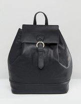 Pieces Simple Backpack With Buckle Fastening
