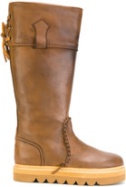 See by Chloe Oxana knee-high boots