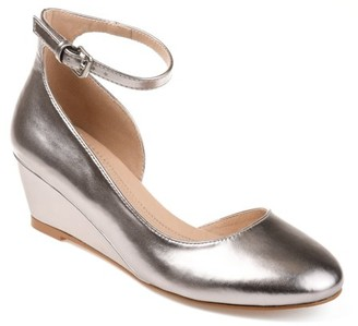 Brinley Co. Womens Comfort Wedge Pumps
