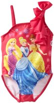 Disney Princess Girls 2-6x 1 Piece Swimsuit