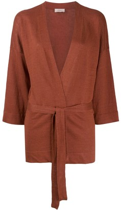 Altea Knitted Kimono-Style Cardi-Coat
