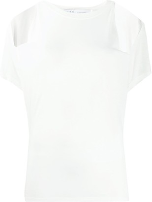 IRO loose-fit cut-out T-shirt