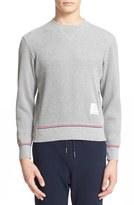 Thom Browne Waffle Knit Sweatshirt