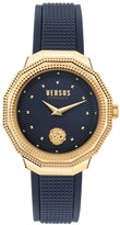 Thumbnail for your product : Versus By Versace Women's Paradise Cove Blue Leather Strap Watch 37mm