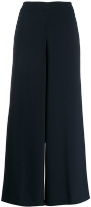 Stefano Mortari Cropped Flared Trousers