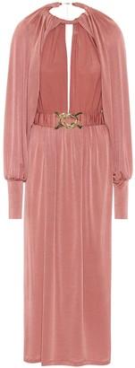 Dodo Bar Or Stretch-crepe midi dress