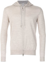 Eleventy marl effect hoodie