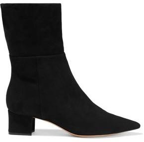 Alexandre Birman Stretch-suede Sock Boots