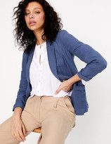 Per Una UsMarks and Spencer Single Breasted Blazer with Linen