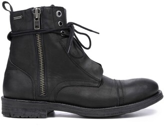 Pepe Jeans Tom-Cut Leather Ankle Boots
