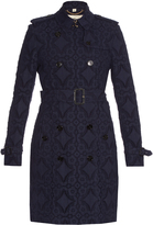 Burberry Kensington broderie-anglaise trench coat