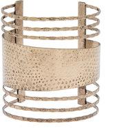 ELOQUII Plus Size Distressed Bracelet Cuff