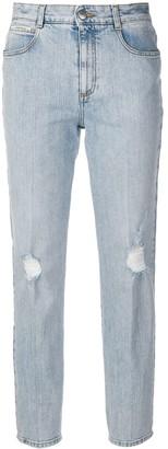 Stella McCartney slim fit stonewashed jeans