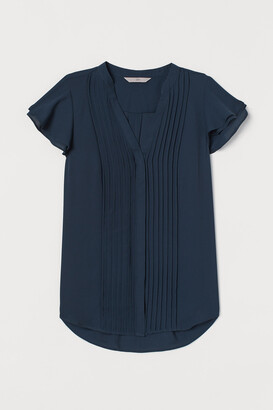 H&M Pin-tuck Blouse