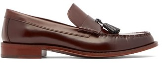 Paul Smith Lewin Tasselled Leather Loafers - Mens - Burgundy