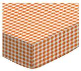SheetWorld Extra Deep Fitted Portable / Mini Crib Sheet - Primary Gingham Woven - Made In USA