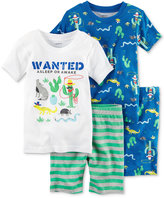Carter's 4-Pc. Cactus Cotton Pajama Set, Baby Boys (0-24 months)