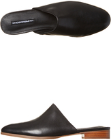 Windsor Smith Pillar Womens Leather Flat Black