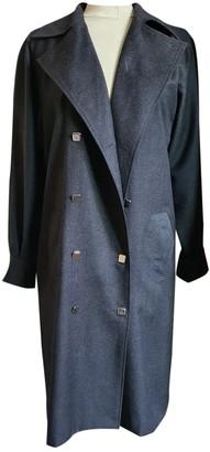 Guy Laroche Grey Wool Coats