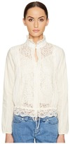 See by Chloe Lace Front Blouse Women's Blouse