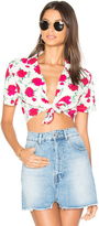 Motel Marleigh Crop Top