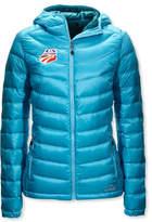 L.L. Bean Ultralight 850 Down Hooded Jacket, U.S. Ski Team