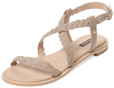 Ava & Aiden Braided Flat Sandal