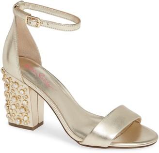 Lilly Pulitzer Amber Lynn Embellished Heel Sandal