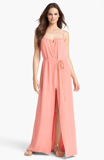 French Connection 'Chelsea' Silk Maxi Dress