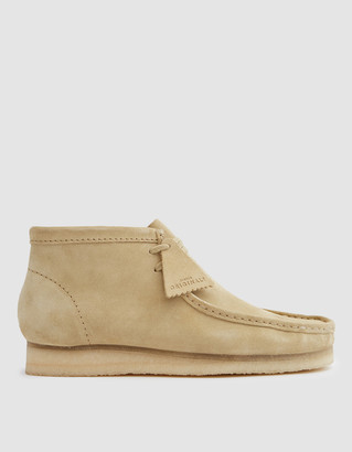 Clarks Men's Wallabee Boot in Maple Suede, Size 9 | Leather